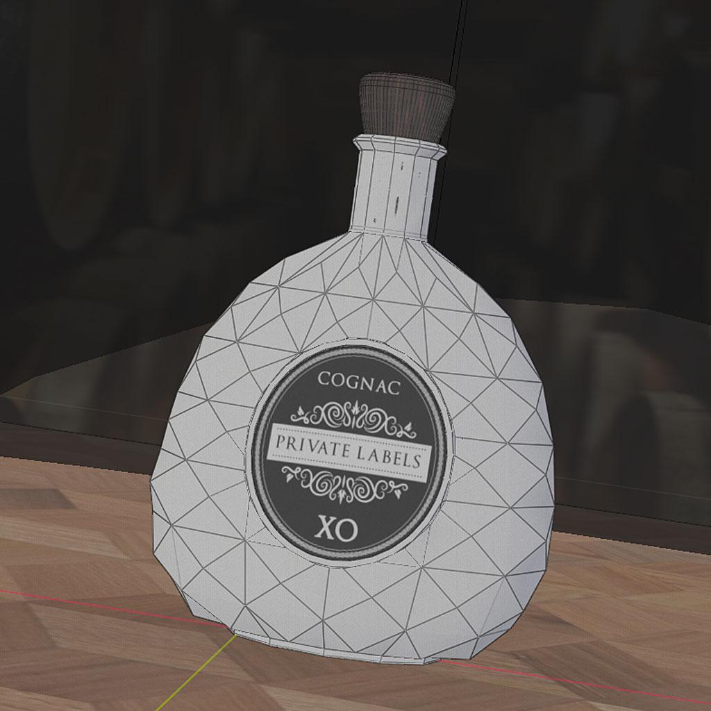 cognac private labels 3d