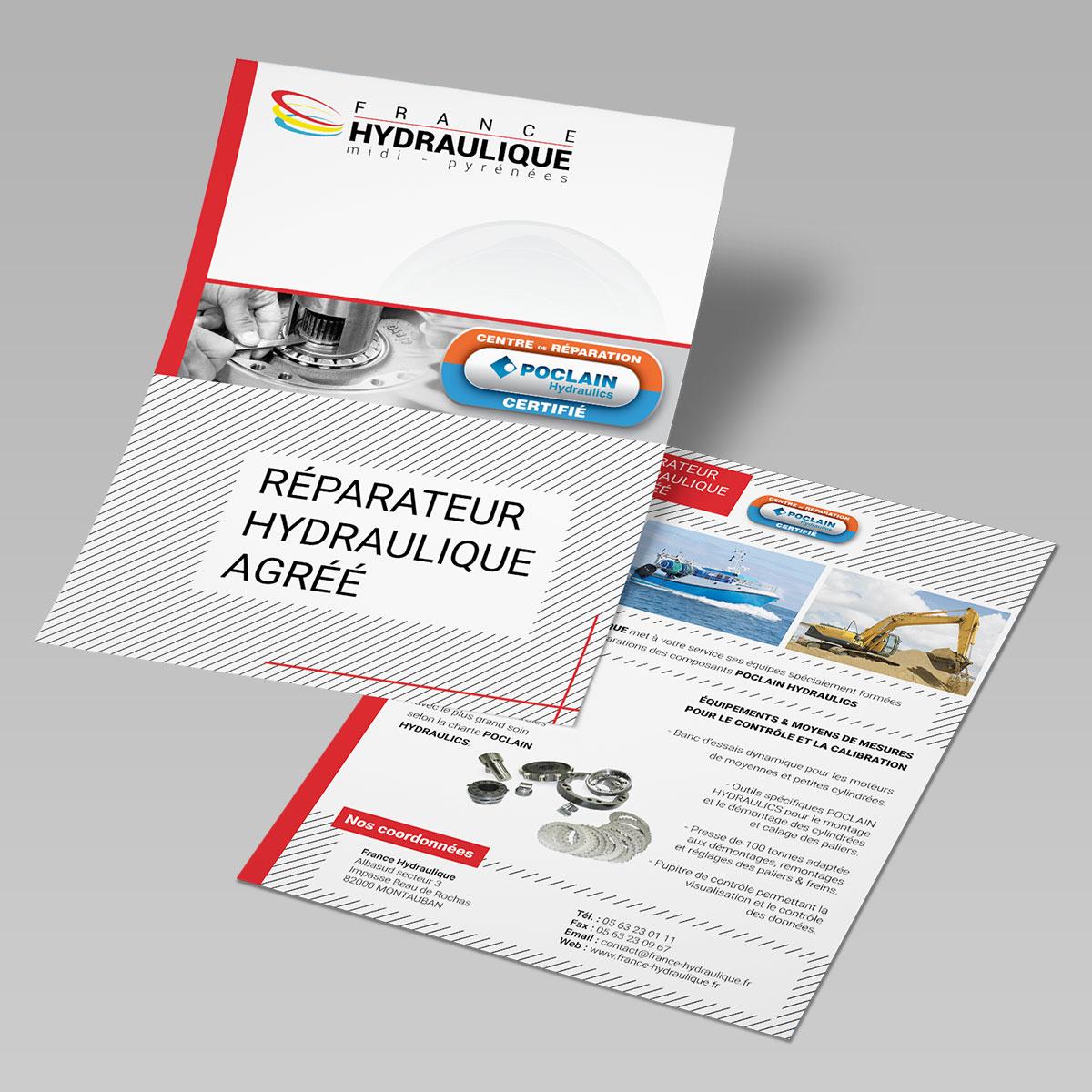 feuillet france hydraulique poclain hydraulics