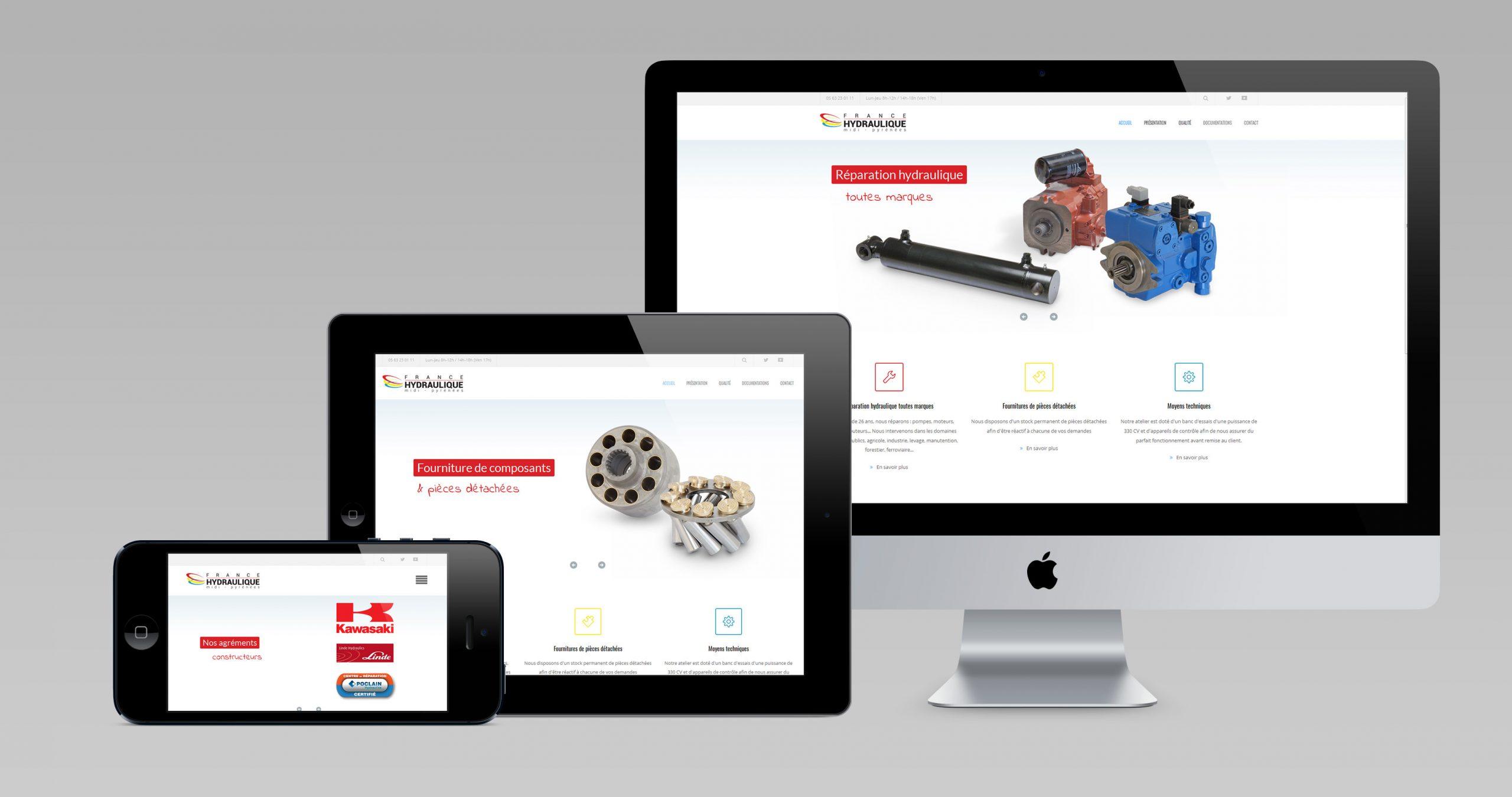 france hydraulique site internet