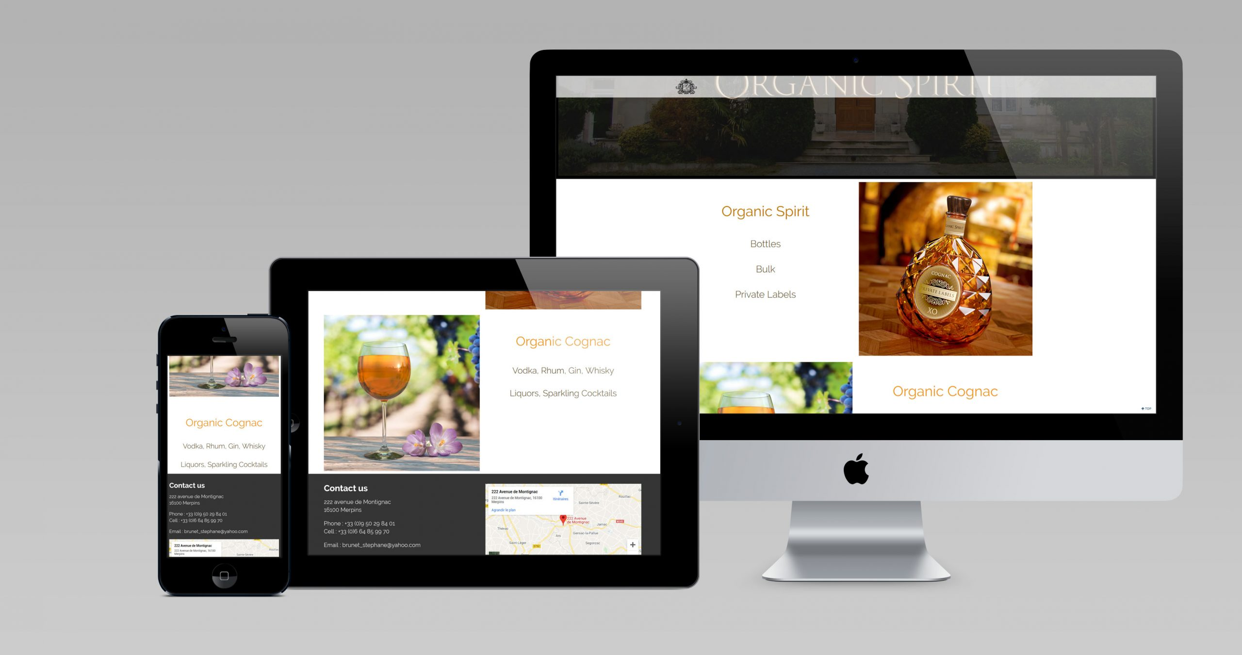 organic spirit site internet
