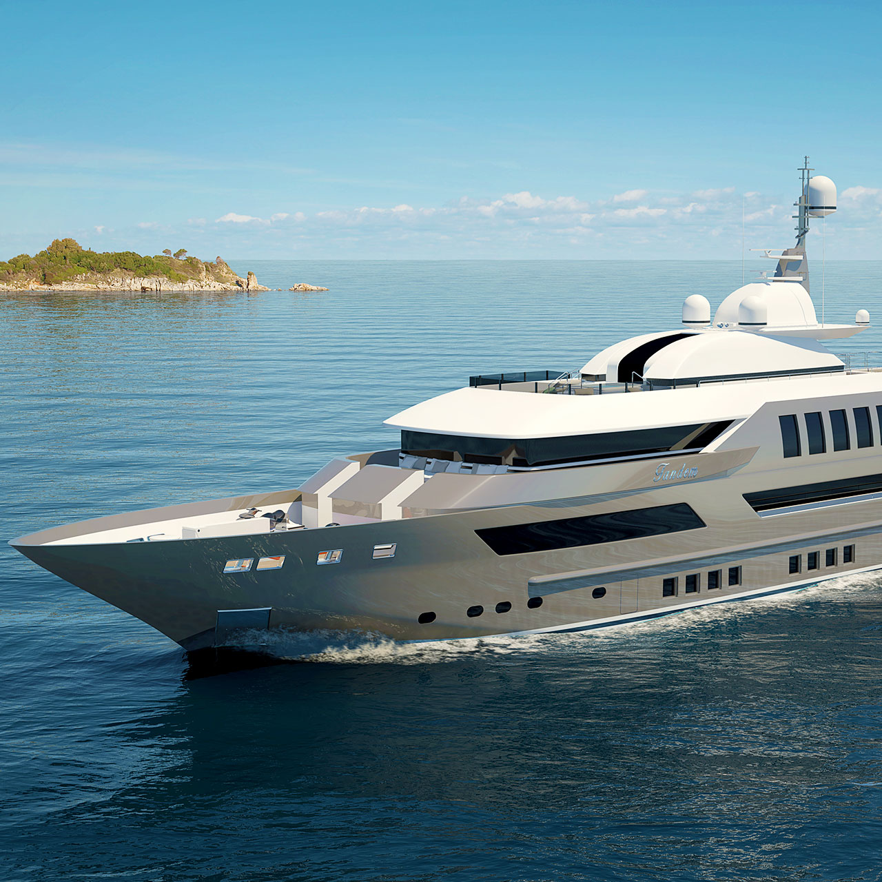 Plaquette Yacht