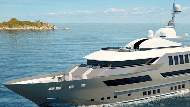 yacht jade 3d brochure