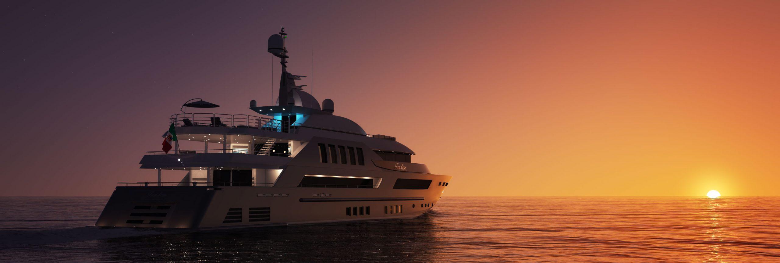 yacht nuit